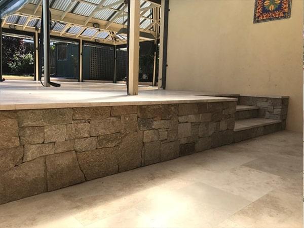 Wa Stone Scape Perth Stone Paving Bbq Area 1