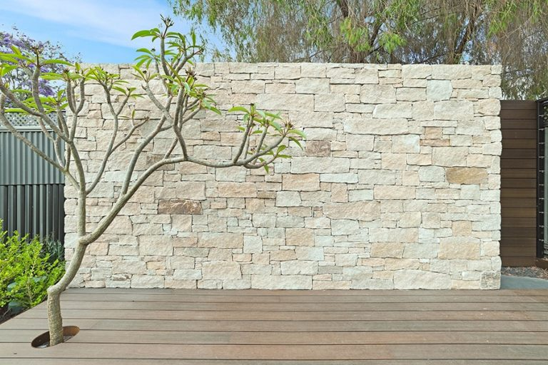 Feature Wall Decking Perth Landscaping