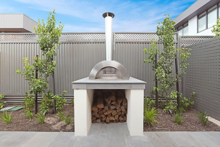 Outdoor Fireplace Landscaping Perth